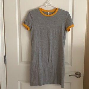 American Apparel cotton T-Shirt Dress